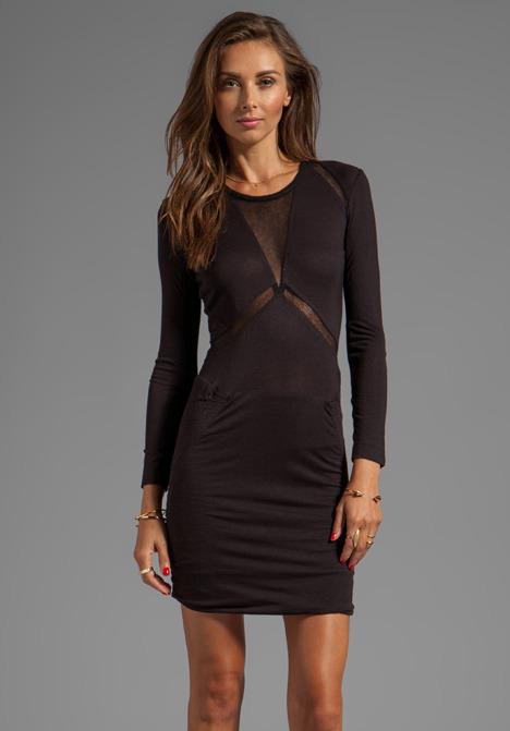 IRO Derova Sheer Cutout Dress