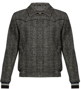 Lanvin Point-collar Zip-front Bomber Jacket