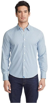 UNTUCKit Pascal Performance (Blue) Men's Clothing