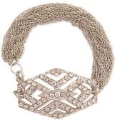 Z Designs Rhinestone Art Deco Bracelet