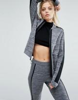 Nike Premium Knitted Panel Bomber Jacket