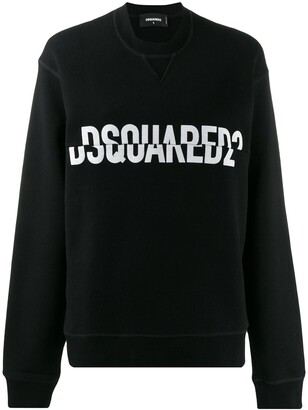 DSQUARED2 Split Logo Print Sweatshirt