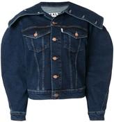 Aalto structured denim jacket