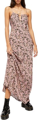 Free People Bon Voyage Floral Print Sleeveless Maxi Dress
