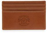 Ghurka Slim Leather Credit Card Case No. 204, Chestnut