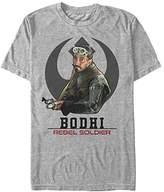 Star Wars Men's Rogue One Bodhi Badge T-Shirt