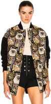 Stella McCartney Cat Embroidered Bomber
