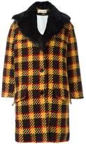 Marni checked single breasted coat