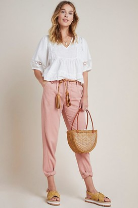 Anthropologie Scout Tapered Slim Trousers