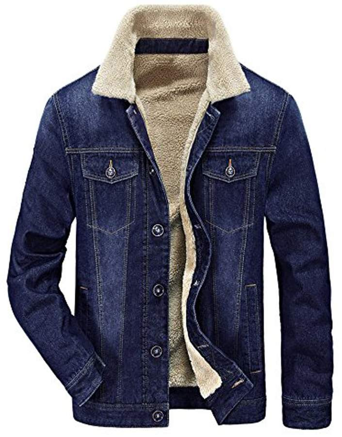 10fb36f8de1 Mens Fleece Lined Denim Jacket - ShopStyle Canada
