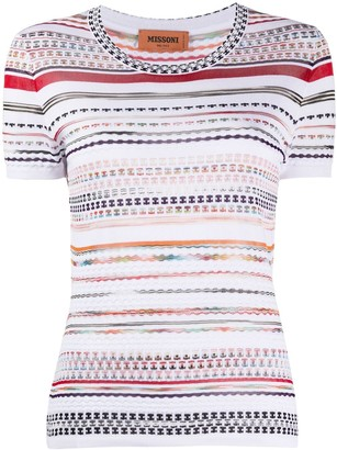 Missoni Striped Knitted Top