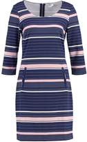 Saint Tropez Jersey dress blue dark