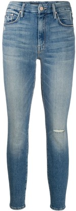 Mother Slim Faded Jeans