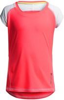Reebok Color-Blocked Active T-Shirt - Short Sleeve (For Big Girls)