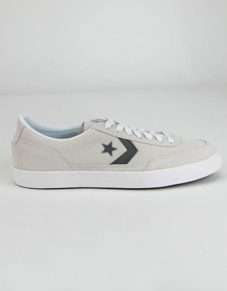Converse Suede And Leather Net Star Classic White Shoes