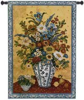 "Fine Art Tapestries ""Suzanne's Blue and "" Wall Tapestry"