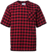 Sacai plaid T-shirt - men - Cotton - 1