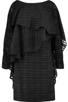 Chalayan Layered Checked Gauze Dress