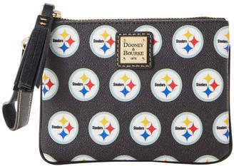Dooney & Bourke Pittsburgh Steelers Saffiano Stadium Wristlet