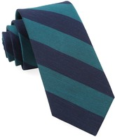 The Tie Bar Teal Rsvp Stripe Tie