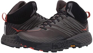 Hoka One One Speedgoat Mid 2 GTX (Anthracite/Dark Gull Grey) Men's Shoes