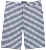 Toobydoo Striped Chambray Short (Baby, Toddler, Little Boys, & Big Boys)