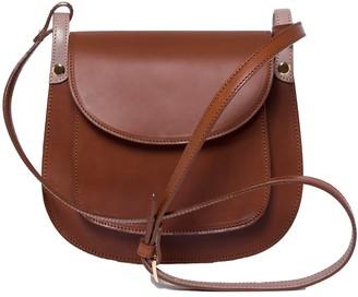 Zoé De Huertas Anglet Brown Cross Body Bag
