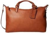 Sole Society Sole / Society SOLE / SOCIETY Grant Duffel Bag (Cognac) Handbags
