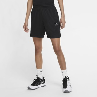 Nike Women's Basketball Shorts Swoosh Fly