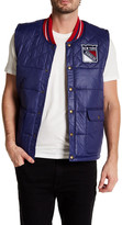 Mitchell & Ness NHL Rangers Snap Button Vest
