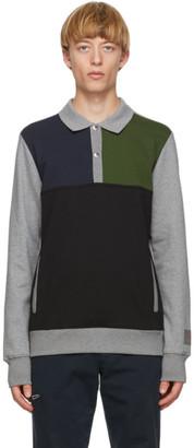 Paul Smith Grey Half Placket Polo