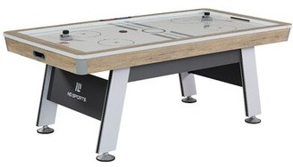 "MD Sports 84"" Two Player Air Hockey Table with Digital Scoreboard and Lights"