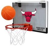 NBA Chicago Bulls Rawlings Polycarbonate Over-The-Door Mini Hoop