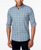 Michael Kors Men's Romeo Box-Check Long-Sleeve Shirt
