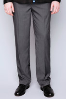 Yours Clothing D555 Charcoal Side Adjustable Waist Trouser - TALL