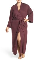 Natori Plus Size Women's 'Shangri-La' Robe