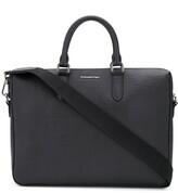 Ermenegildo Zegna logo plaque briefcase