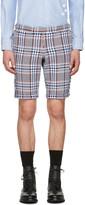 Thom Browne Multicolor Tweed Side Tab Shorts