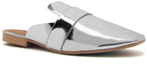 Qupid Silver Moby Slip-On Loafer
