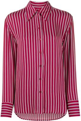 MICHAEL Michael Kors Striped Long-Sleeved Shirt
