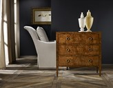 The Well Appointed House Modern History Three Drawer Chest in Burl - ON BACKORDER -
