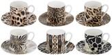 Roberto Cavalli Africa Coffee Cups & Saucers