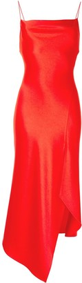 Alice + Olivia Front Slit Asymmetric Dress