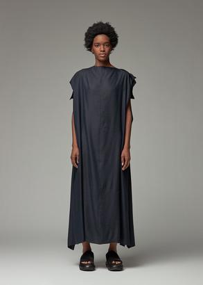 Y's by Yohji Yamamoto Women's Scarf Dress in Navy Size 2