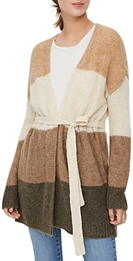 Vero Moda Isabella Striped Belted Cardigan