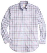 Brooks Brothers Golden Fleece® Madison Fit Bold Windowpane Sport Shirt