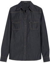 Tom Ford Denim Shirt - Dark denim