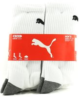 Puma Men's Crew Socks - Pack of 6 Pairs