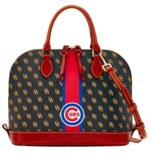 Dooney & Bourke Chicago Cubs Zip Zip Stadium Satchel