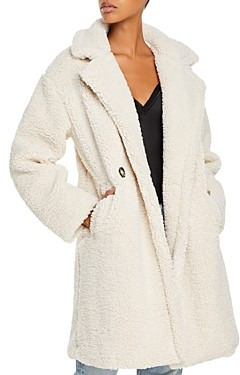 Apparis Anouck Faux Shearling Coat